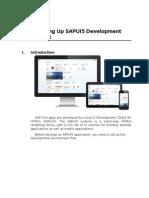 Setting Up SAPUI5 Development Environment V1_5