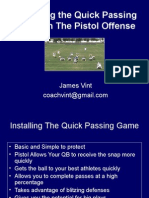 James Vint - Pistol Quick Pass Game.ppt