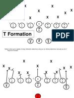 T Formation 3rd Grade