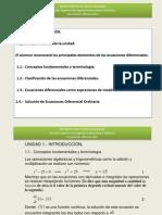 Introducción a ecuaciones diferenciales