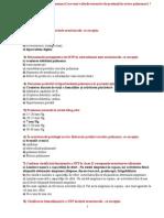 Teste Pneumologie