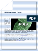 Mold Inspection Los Angeles