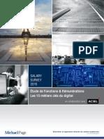 Guide Des 15 Métiers Clés Du Digital 2015