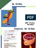 Tema 2. Cuentas de Orden