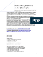 Global Anti-static Mat Industry 2015 Market Research Report