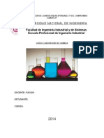 quimica basica 1er informe