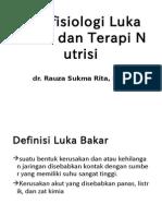 Patofisiologi Luka Bakar Dan Terapi Nutrisi