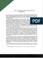Aportación al estudio del Pleito de Los Alhorines. (Versión J. M. Soler)