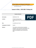Gay and Lesbian Issues in Chile, I, 1991-2001 Finding Aid