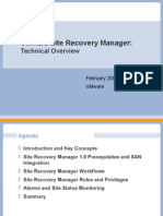 Site Recovery Manager Technical Overview