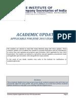 Academic 2015 Examination 23-03-2015