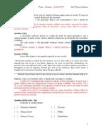 P1 - 1º período - 7º ano - GABARITO