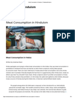 Meat Consumption in Hinduism