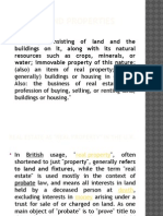 Housing and Properties