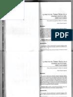 Fundamentos Teóricos y metodológicos de la Intervención en Trabajo social