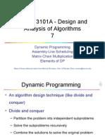 Dynamic Programming 01