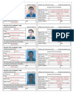 Job Clearance Card