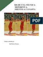 Análisis Técnica Baloncesto