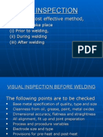 Visual Inspection of metal