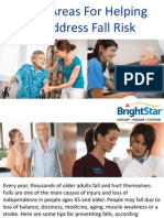 5 Key Areas for Helping to Address Fall Risk