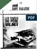 Les Fusées Du Père Brejnev - Nouvel Europe Magazine (1970)