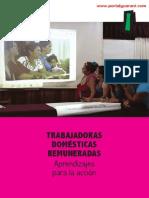 TRABAJADORAS DOMESTICAS REMUNERADAS 2014 - APRENDIZAJES PARA LA ACCION - LILIAN SOTO - CDE - PORTALGUARANI