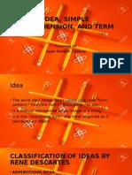 Idea, Simple Apprehension, And Term