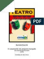 Bertold Brecht - O casamento do pequeno burguês