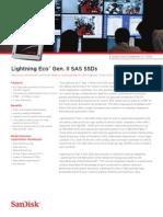 Lightning Eco GenII Sas Ssd Datasheet