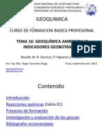 20. Geoquimica ambiental
