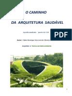 [Apostila] O Caminho Da Arquitetura Saudável - Fabio Henrique Mazzoni de Oliveira e Silva