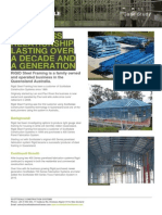 Case Study Rigid Steel Framing