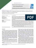 predictive validity of the post partum depression predictors inventory revised.pdf