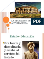 La Educación en La Antigua Roma