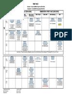 Time Table for 18 Th April 19th April(1)