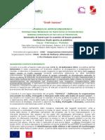 Dossier CONNECT 8-11 Settembre 2015 Palermo