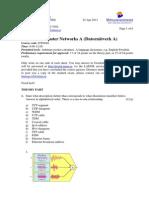 Datornätverk t130422 En