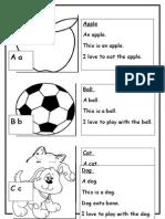 English Alphabet Book