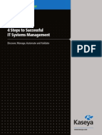 4 Steps to Successful IT System Management