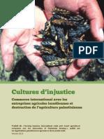 Culture d' injustice