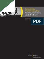 Competency Frameworks 2012