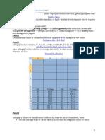 Crearea Unui Joc În Excel