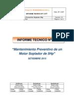 Informe Tecnico Soplador Nº3