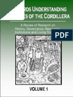 Towards Understanding the Peoples of the Cordillera