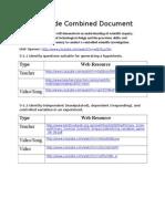 5th grade web resources