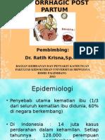 Hemorrhagic Post Partum