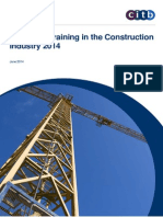 Citb Skills and Training in the Construction Industry_final Report 2014