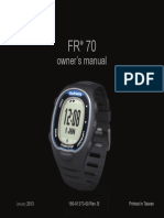 FR70 Manual