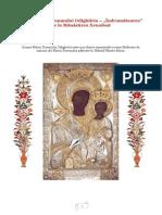 """Icoana Maicii Domnului """"Îndrumătoarea"""" de La Mănăstirea Xenofont"""