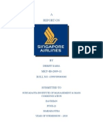 Report on Singapore Airlines